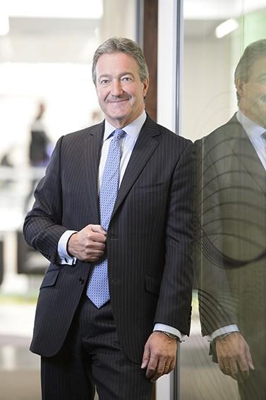 Front cover portrait photos for CEO Magazine
