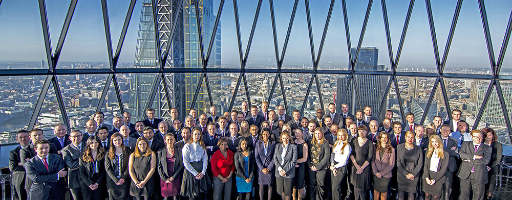 Large group corporate photography in London