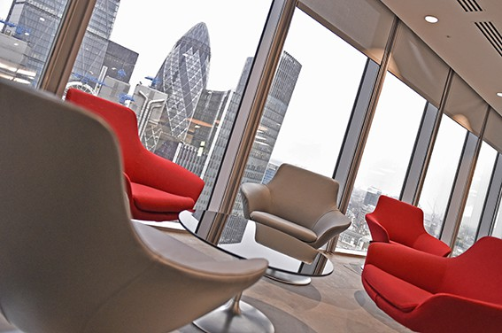 Corporate office photography fenchurch street