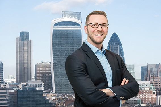 City of London corporate headshot.