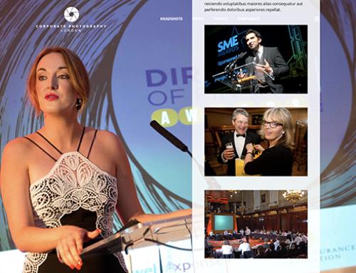 Corporate Photography Website Design