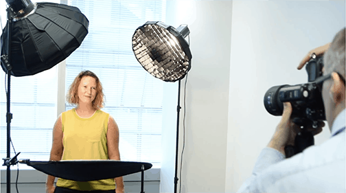Corporate Headshots in London Offices with our Mobile Photographic Studio. 2
