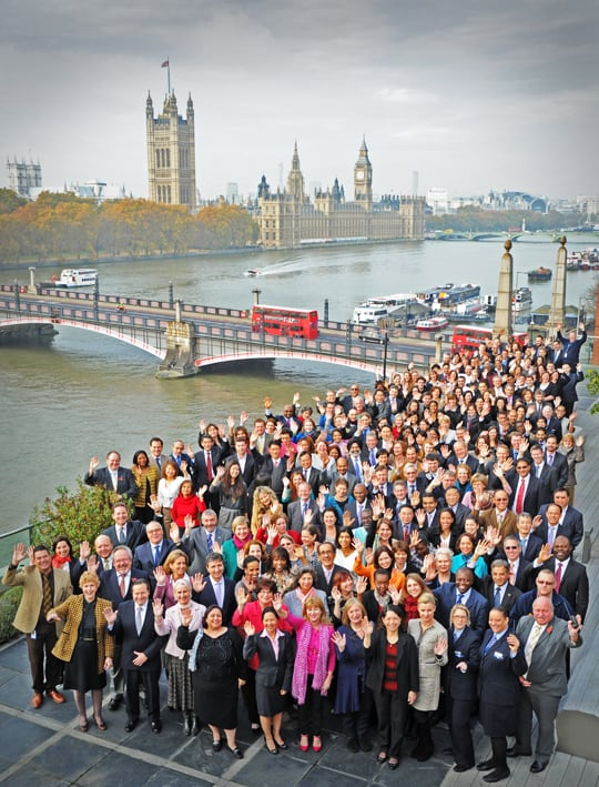 corporate group and team photography in London